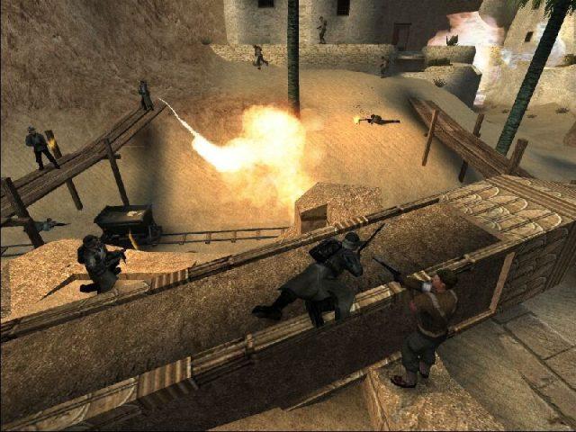 Wolfenstein: Enemy Territory in-game screen image #1