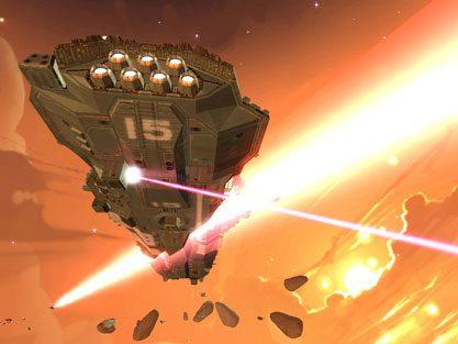 Homeworld 2 in-game screen image #4
