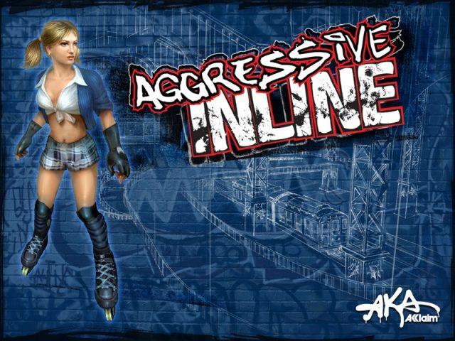 Aggressive Inline  game art image #1