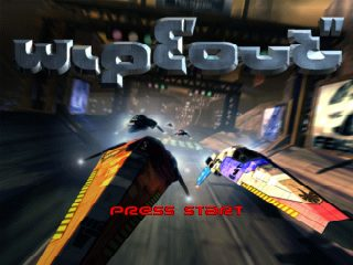 WipEout  title screen image #1