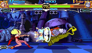 Vampire Hunter: Darkstalkers Revenge  in-game screen image #2