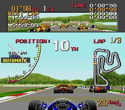 Ayrton Senna's Super Monaco GP II  in-game screen image #1