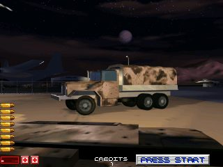 Area 51 / Maximum Force Duo in-game screen image #1