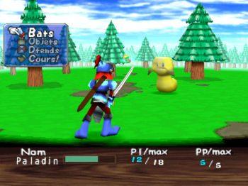 Guardian's Crusade  in-game screen image #1