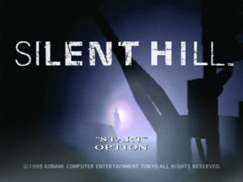 Silent Hill  title screen image #1