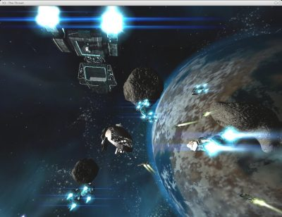 X²: The Threat  in-game screen image #1