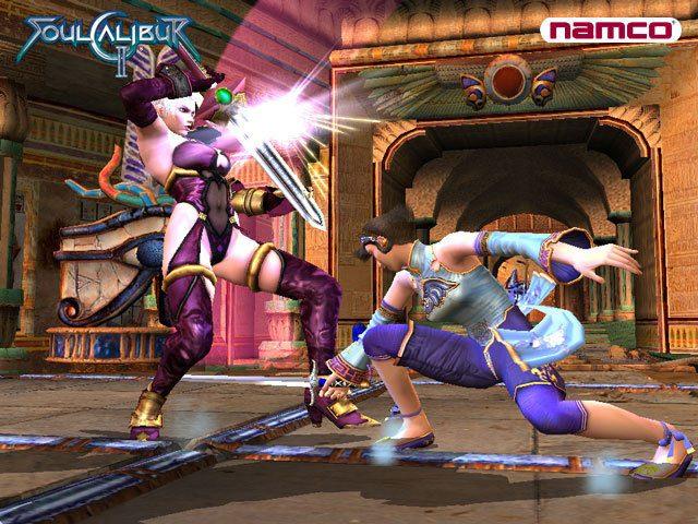 SoulCalibur II  in-game screen image #8