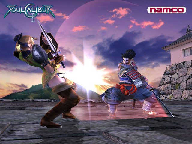 SoulCalibur II  in-game screen image #6