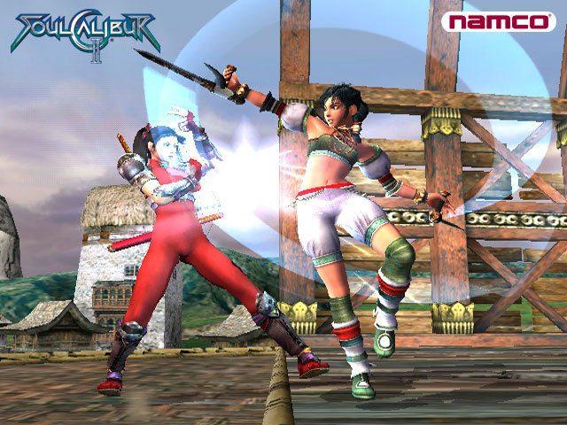 SoulCalibur II  in-game screen image #3