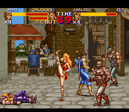 Final Fight 2 in-game screen image #2