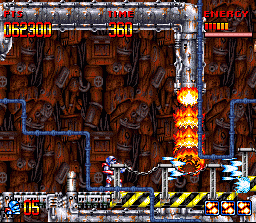 Super Turrican  in-game screen image #4