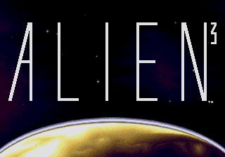 Alien³  title screen image #1