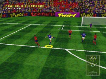 Actua Soccer  in-game screen image #2