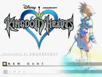 Kingdom Hearts  title screen image #1