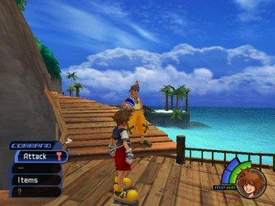 Kingdom Hearts  in-game screen image #1