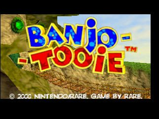 Banjo-Tooie  title screen image #1