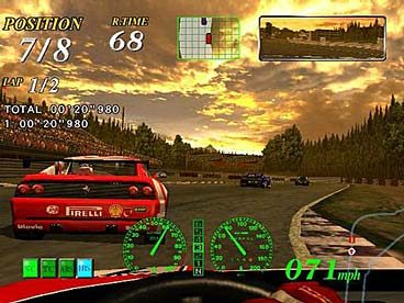 F355 Challenge - Passione Rossa  in-game screen image #2