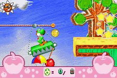 Yoshi's Universal Gravitation  in-game screen image #1