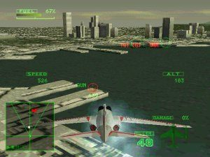 Ace Combat 2 in-game screen image #1