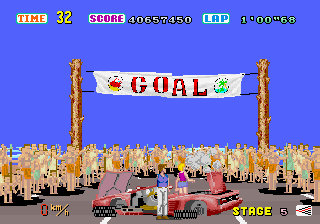 Out Run  in-game screen image #6