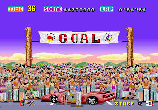 Out Run  in-game screen image #5