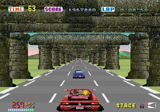 Out Run  in-game screen image #4