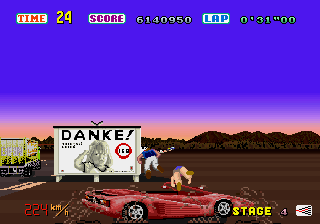 Out Run  in-game screen image #3