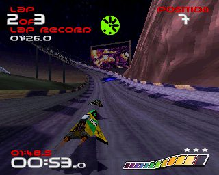WipEout  in-game screen image #2