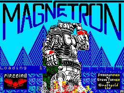Magnetron title screen image #1