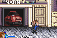 Double Dragon Advance in-game screen image #2