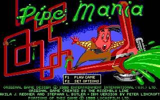 Pipe Dream  title screen image #1