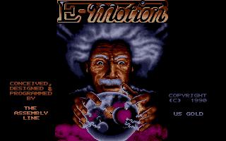 E-Motion  title screen image #1