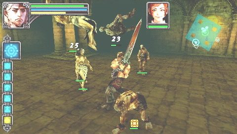 Warriors of the Lost Empire  in-game screen image #3