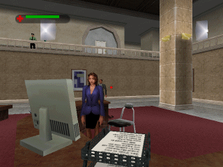 007: The World is Not Enough  in-game screen image #3