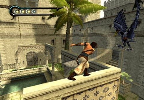 Prince of Persia: The Sands of Time in-game screen image #1