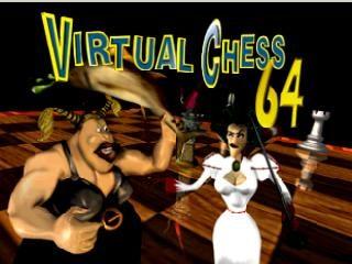 Virtual Chess 64 title screen image #1