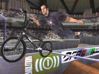 Mat Hoffman's Pro BMX in-game screen image #1