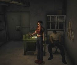 Resident Evil CODE: Veronica  in-game screen image #3