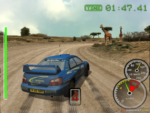 Sega Rally 2006 in-game screen image #1