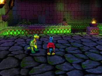 Gex 3: Deep Cover Gecko in-game screen image #1