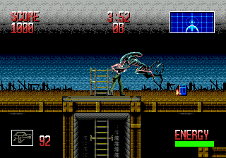 Alien³  in-game screen image #1