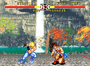 Fighter's History Dynamite  in-game screen image #1