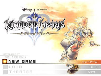 Kingdom Hearts II Final Mix+ title screen image #1