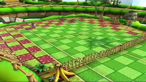 Sega Superstars Tennis in-game screen image #1