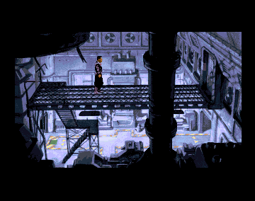 Beneath A Steel Sky in-game screen image #1