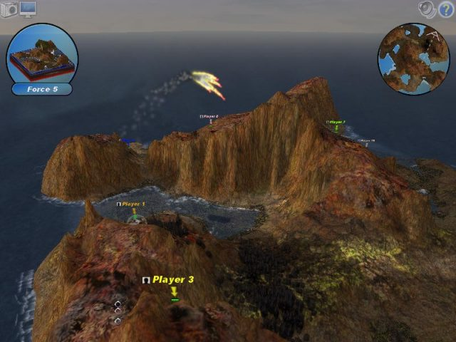 Scorched 3D in-game screen image #1