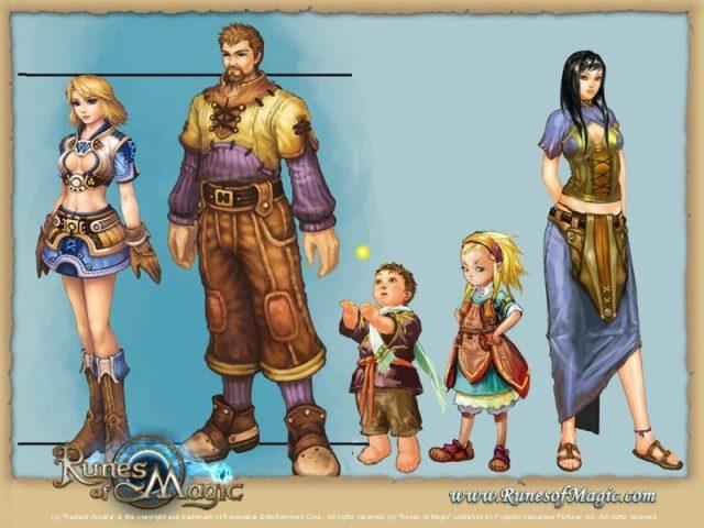Runes of Magic  game art image #1
