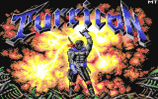 Turrican title screen image #1
