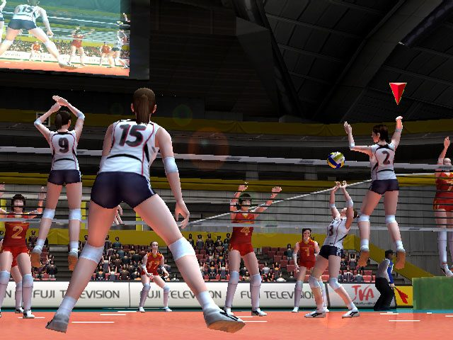 Women's Volleyball Championship (2007) by Spike PS2 game