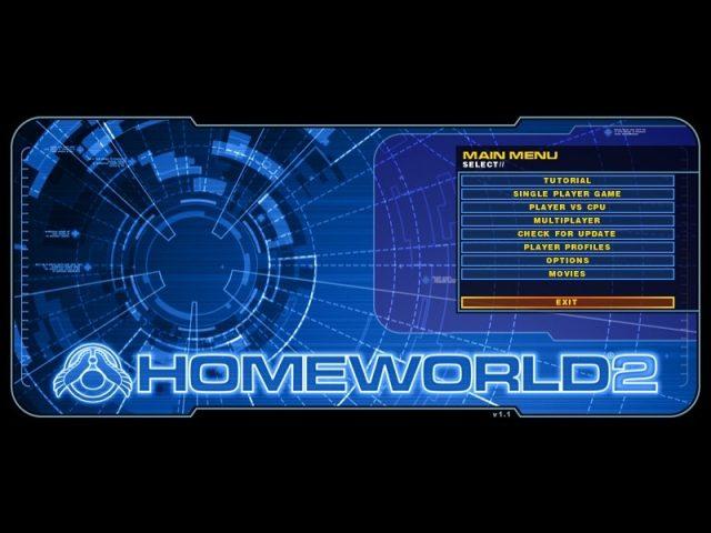 Homeworld 2 title screen image #1